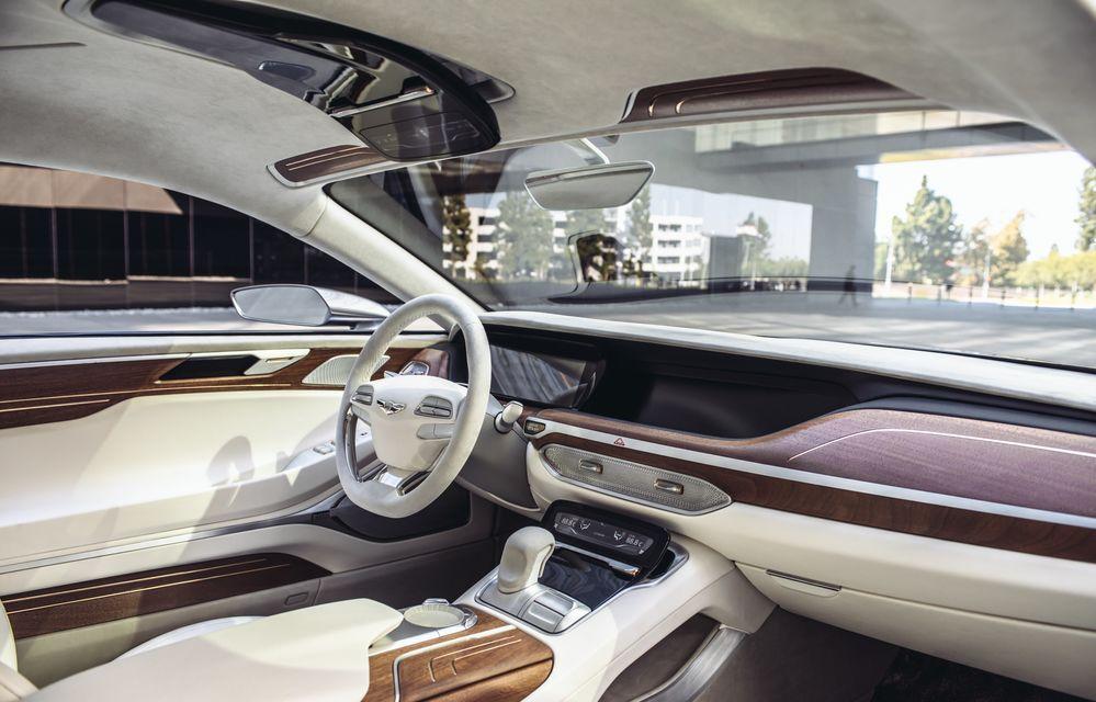 Hyundai Vision G Coupe Concept: marca sud-coreeană virează spre zona premium - Poza 4