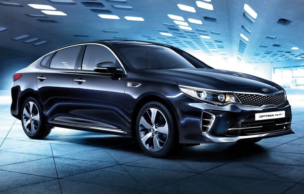 Kia Optima a primit o generație nouă, gata să-l înfrunte pe Volkswagen Passat - Poza 1