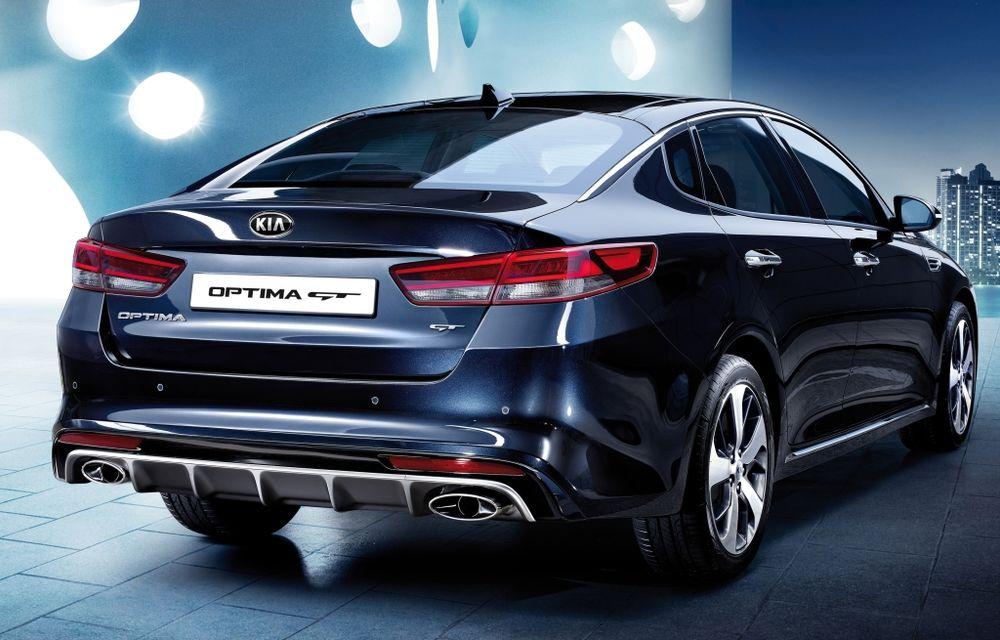 Kia Optima a primit o generație nouă, gata să-l înfrunte pe Volkswagen Passat - Poza 2