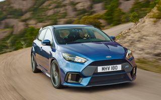 Ford Focus RS își anunță performanțele: 350 CP, 0-100 km/h în 4.7 secunde și 266 km/h viteză maximă