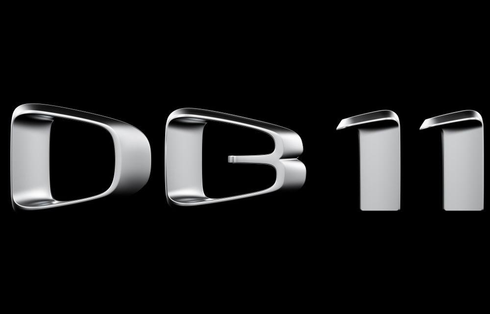 Aston Martin confirmă lansarea lui DB11, succesorul lui DB9, pentru anul viitor - Poza 1