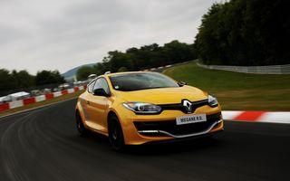 Renault Megane RS rămâne în producție în aceeași configurație până la finalul lui 2016