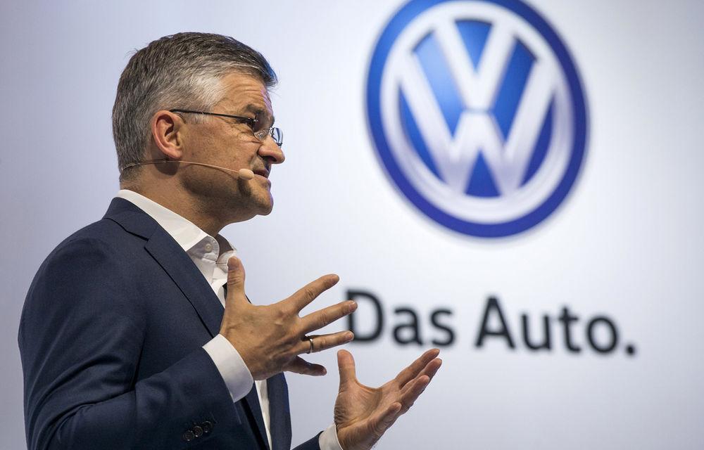 """Şeful Volkswagen SUA: """"Am sfeclit-o. Vom plăti ce avem de plătit"""" - Poza 1"""
