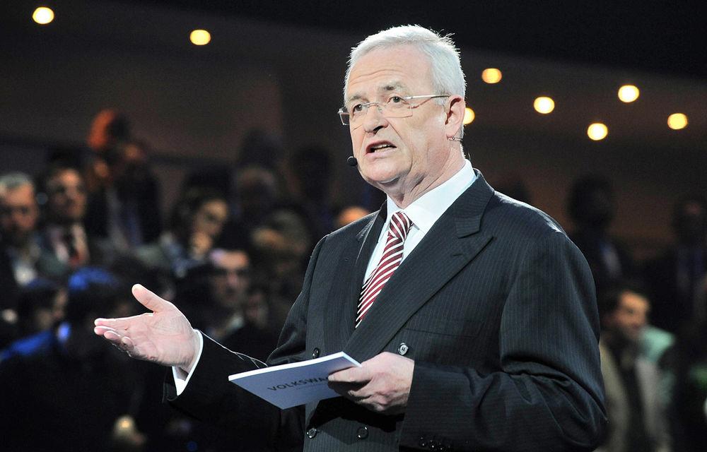 Presa germană: Martin Winterkorn va fi înlocuit vineri din poziţia de CEO al Volkswagen Group - Poza 1
