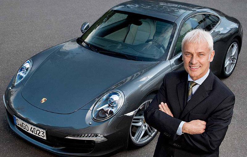 """Matthias Muller este noul președinte al Grupului Volkswagen: """"Prioritatea mea e să recâștig încrederea tuturor"""" - Poza 1"""