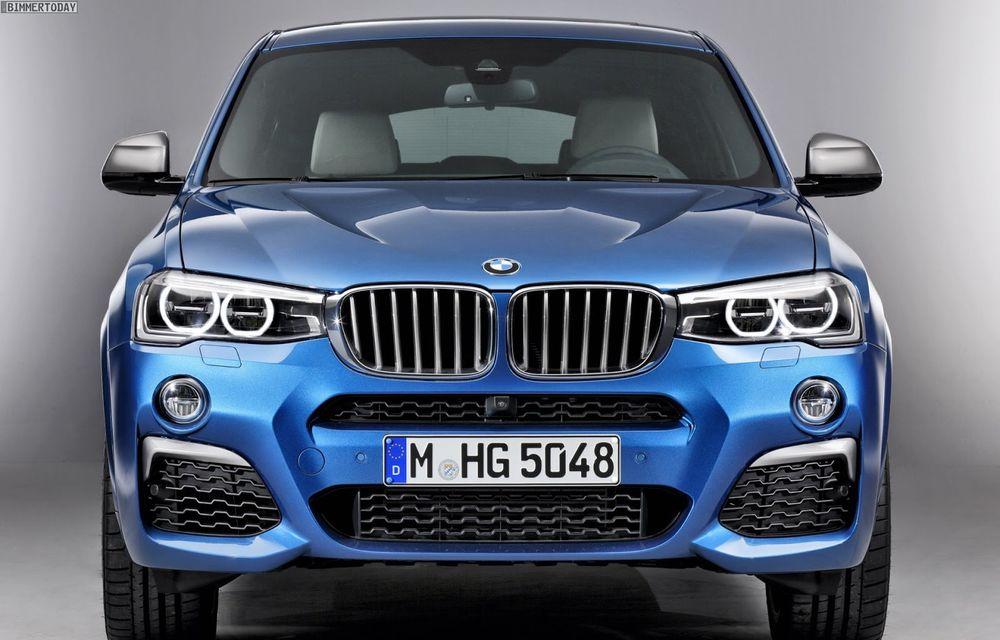 BMW X4 M40i se lansează cu 360 CP și 465 Nm: primul pas spre un X4 M? - Poza 6