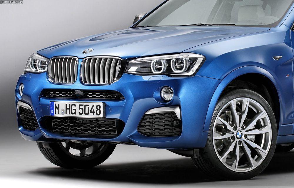 BMW X4 M40i se lansează cu 360 CP și 465 Nm: primul pas spre un X4 M? - Poza 3