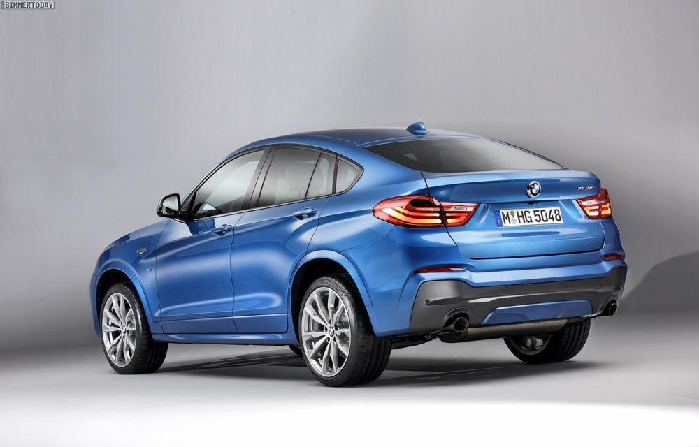 BMW X4 M40i se lansează cu 360 CP și 465 Nm: primul pas spre un X4 M? - Poza 2