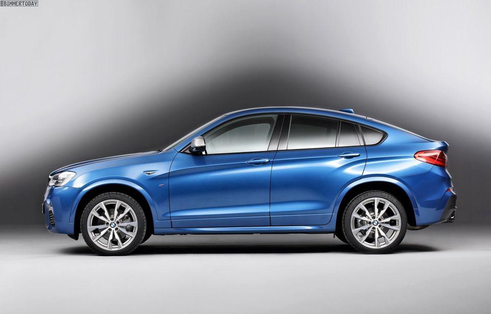 BMW X4 M40i se lansează cu 360 CP și 465 Nm: primul pas spre un X4 M? - Poza 5