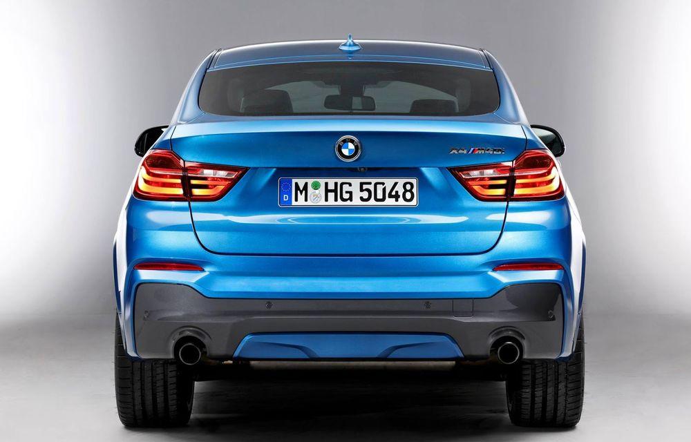 BMW X4 M40i se lansează cu 360 CP și 465 Nm: primul pas spre un X4 M? - Poza 8