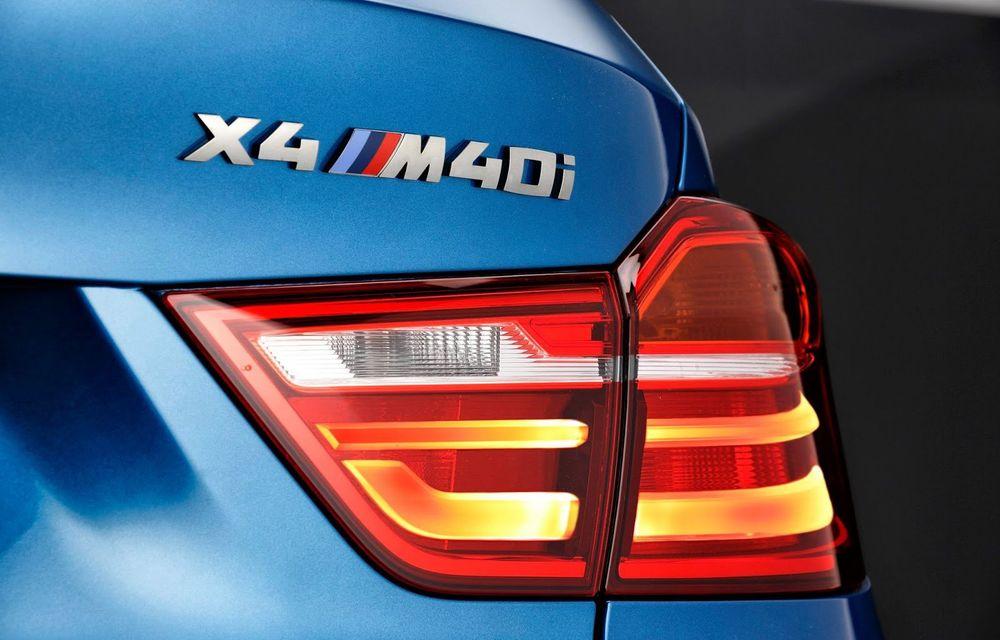 BMW X4 M40i se lansează cu 360 CP și 465 Nm: primul pas spre un X4 M? - Poza 7