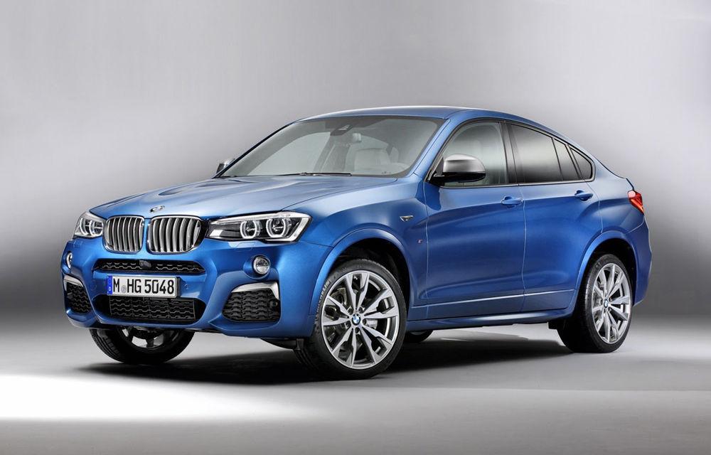 BMW X4 M40i se lansează cu 360 CP și 465 Nm: primul pas spre un X4 M? - Poza 1