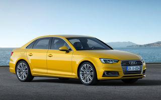 Prețuri pentru noul Audi A4 în România: a cincea generație a modelului german pleacă de la 32.400 de euro
