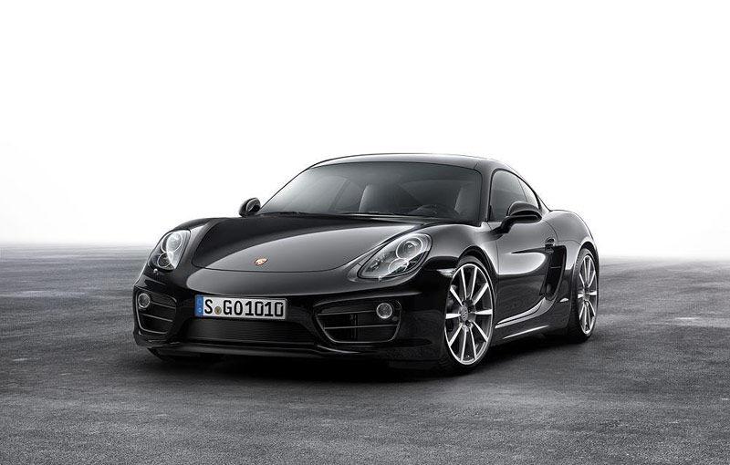 Porsche introduce versiunea specială Cayman Black Edition - Poza 1