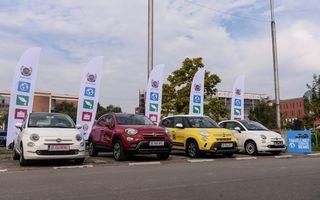 Fiat a demarat primul program gratuit de car sharing pentru studenții români: Fiat Likes U