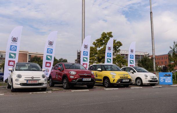 Fiat a demarat primul program gratuit de car sharing pentru studenții români: Fiat Likes U - Poza 1