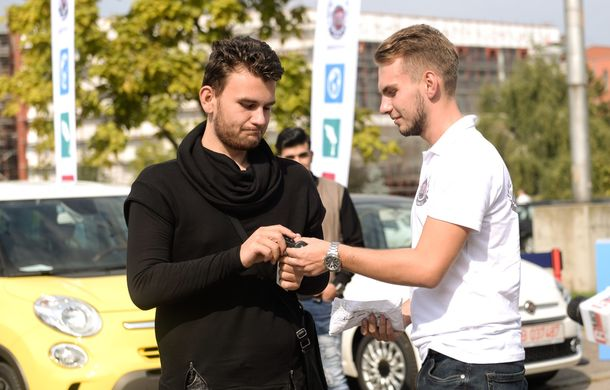 Fiat a demarat primul program gratuit de car sharing pentru studenții români: Fiat Likes U - Poza 4