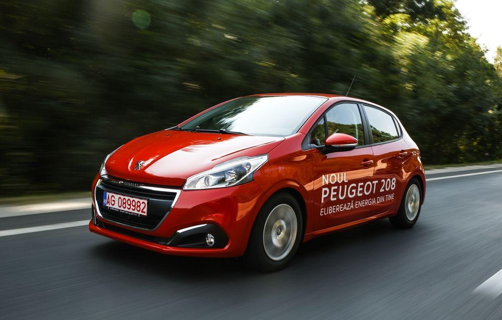 Test drive Peugeot 208 facelift