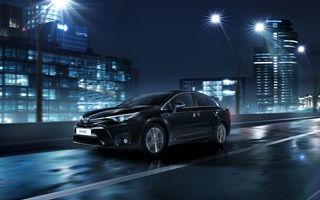 Noile Toyota Avensis şi Auris facelift au preţuri în România: de la 20.250, respectiv 16.400 de euro