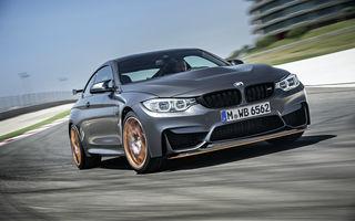BMW M4 GTS: 500 CP și 0-100 km/h în 3.8 secunde pentru cel mai rapid BMW de serie