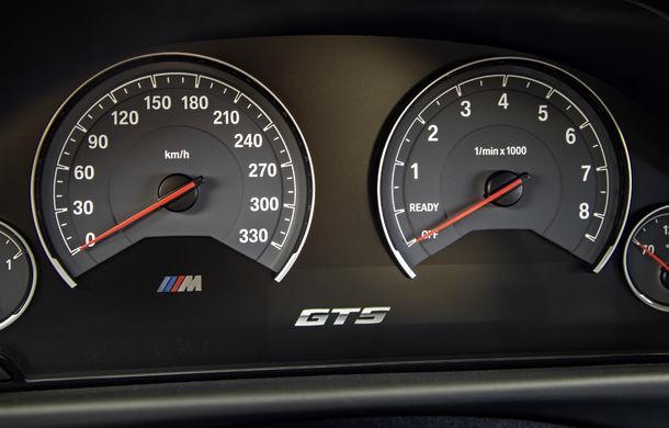 BMW M4 GTS: 500 CP și 0-100 km/h în 3.8 secunde pentru cel mai rapid BMW de serie - Poza 23