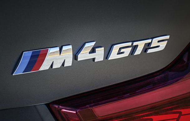 BMW M4 GTS: 500 CP și 0-100 km/h în 3.8 secunde pentru cel mai rapid BMW de serie - Poza 38