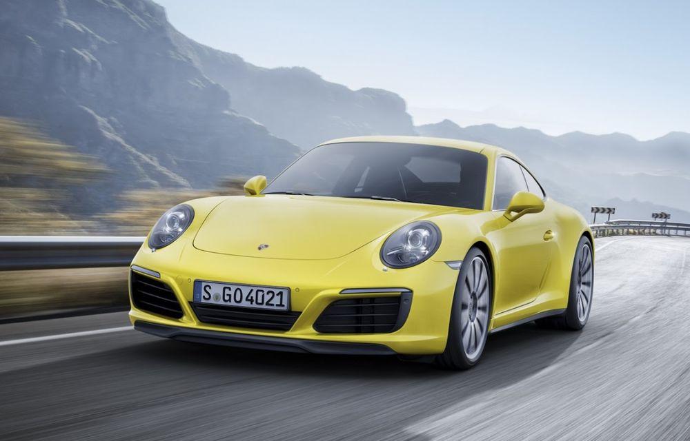 Porsche a aplicat facelift-ul lui 911 și pe variantele cu tracțiune integrală - Poza 2