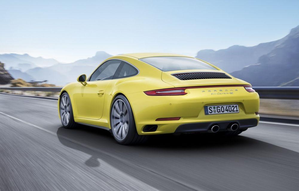 Porsche a aplicat facelift-ul lui 911 și pe variantele cu tracțiune integrală - Poza 3