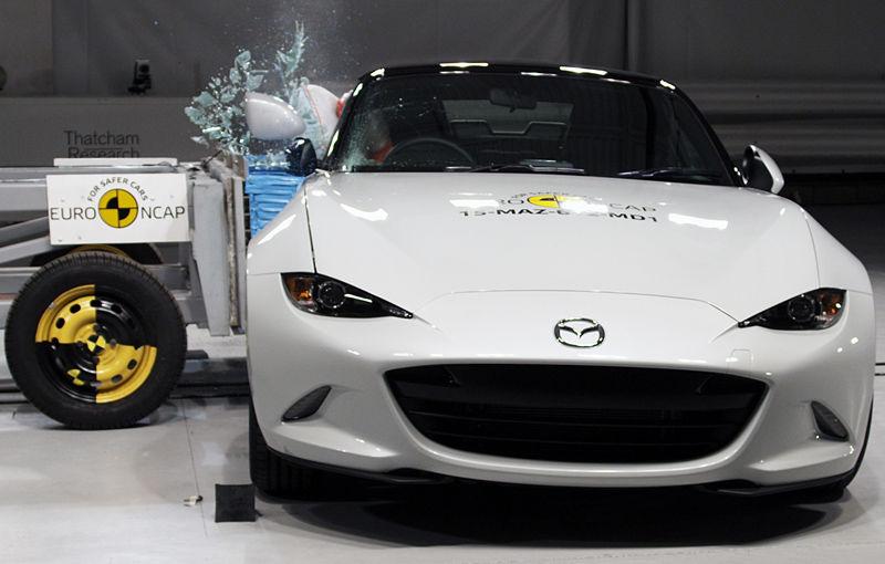 Teste de siguranţă: 5 stele pentru noul Tucson, 4 stele pentru Mazda MX-5 şi Opel Karl - Poza 5