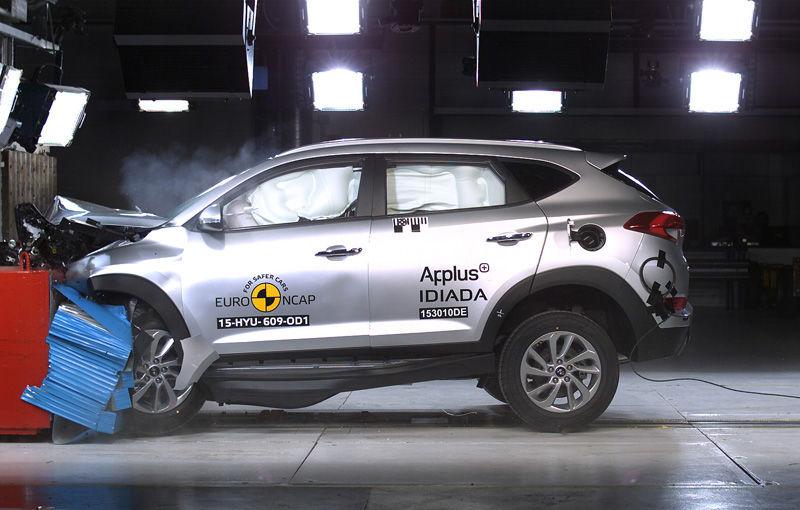 Teste de siguranţă: 5 stele pentru noul Tucson, 4 stele pentru Mazda MX-5 şi Opel Karl - Poza 2
