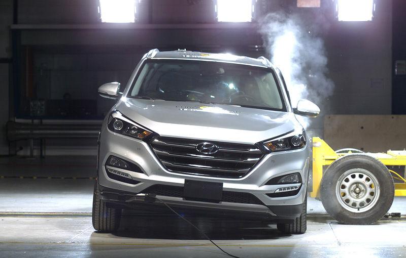 Teste de siguranţă: 5 stele pentru noul Tucson, 4 stele pentru Mazda MX-5 şi Opel Karl - Poza 1