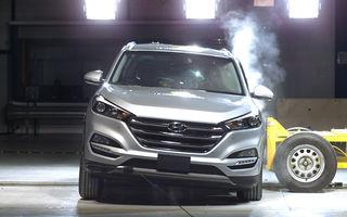 Teste de siguranţă: 5 stele pentru noul Tucson, 4 stele pentru Mazda MX-5 şi Opel Karl