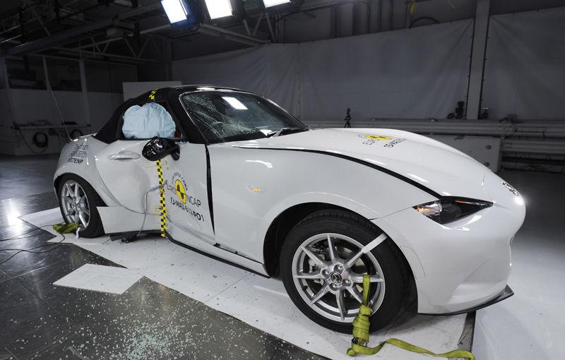 Teste de siguranţă: 5 stele pentru noul Tucson, 4 stele pentru Mazda MX-5 şi Opel Karl - Poza 4