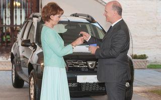 Dacia a oferit un Duster Fundației Principesa Margareta a României