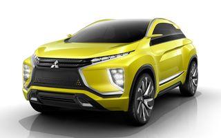 Mitsubishi eX, conceptul 100% electric al cărui design prefigurează viitoarele crossovere ale mărcii