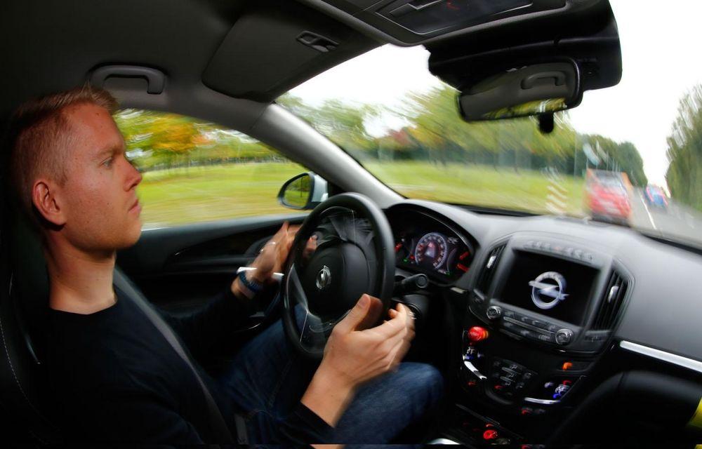Opel prezintă prototipul unui Insignia capabil să evite singur accidentele - Poza 4