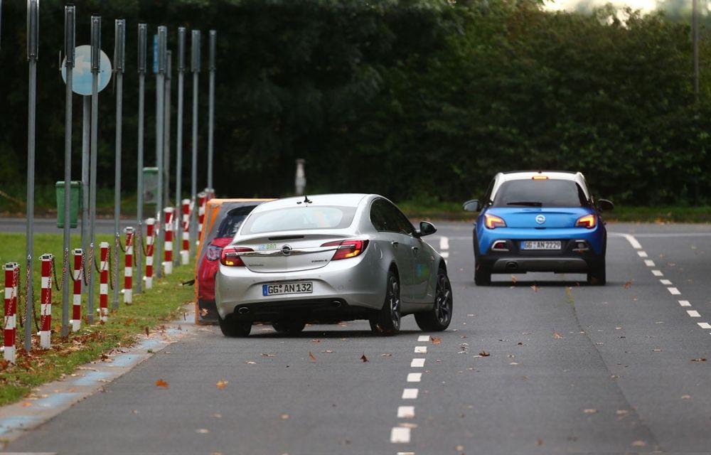 Opel prezintă prototipul unui Insignia capabil să evite singur accidentele - Poza 7