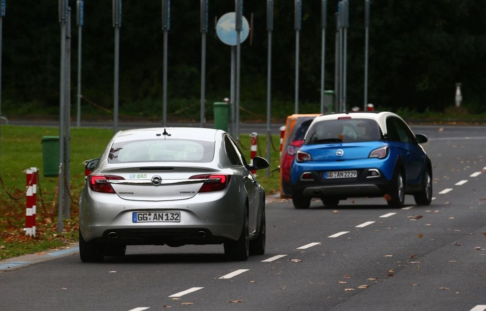 Opel prezintă prototipul unui Insignia capabil să evite singur accidentele - Poza 10