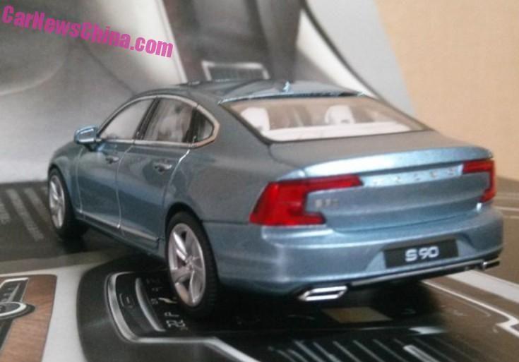 Acesta este noul Volvo S90. Deconspirat deocamdată de o machetă - Poza 2