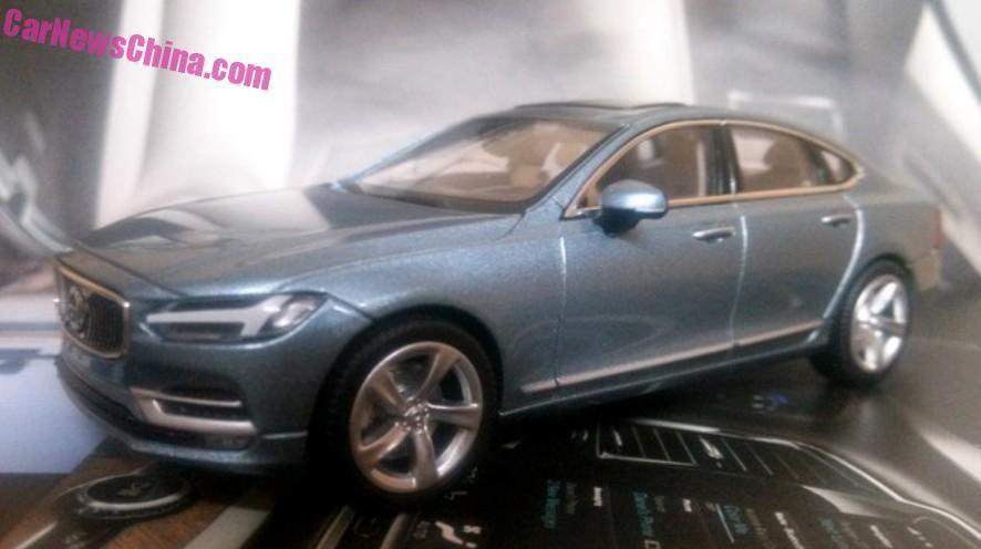 Acesta este noul Volvo S90. Deconspirat deocamdată de o machetă - Poza 4