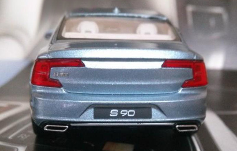 Acesta este noul Volvo S90. Deconspirat deocamdată de o machetă - Poza 1