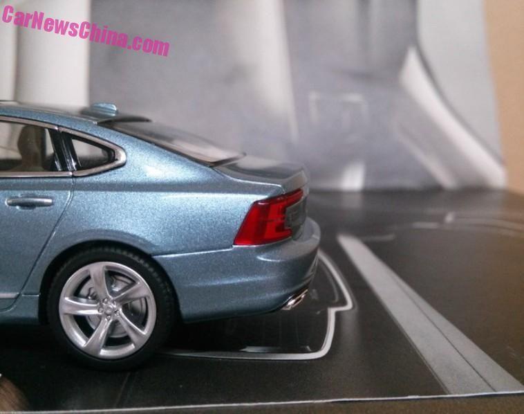 Acesta este noul Volvo S90. Deconspirat deocamdată de o machetă - Poza 5