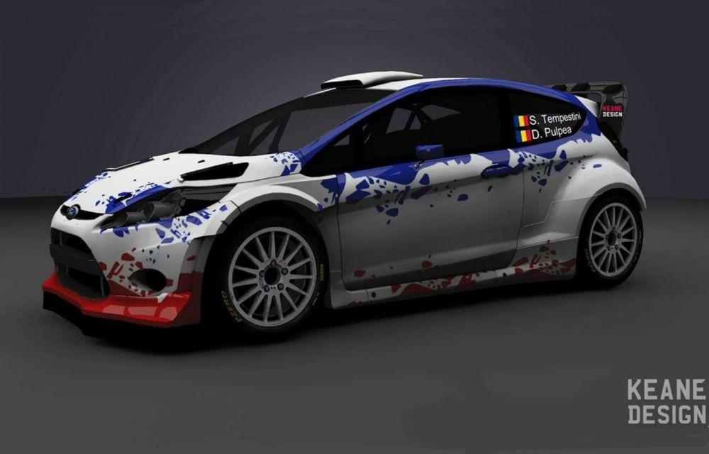Simone Tempestini face un pas important spre grupa mare din WRC: va concura cu un Ford Fiesta WRC - Poza 1