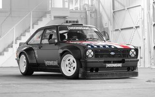 VIDEO: Ken Block are o nouă mașină de Gymkhana: un Ford Escort din 1978 cu 333 CP