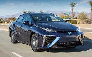Toyota Mirai va naște o familie întreagă de modele alimentate cu hidrogen