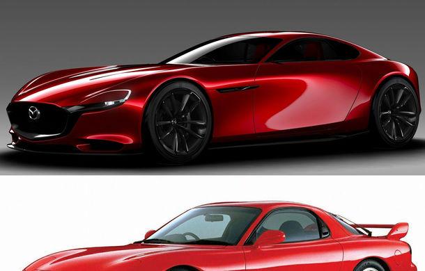 Scoateţi posterele de la naftalină, reînviaţi guma Turbo: Mazda RX-Vision e aici să anunţe urmaşul lui RX-7 - Poza 2