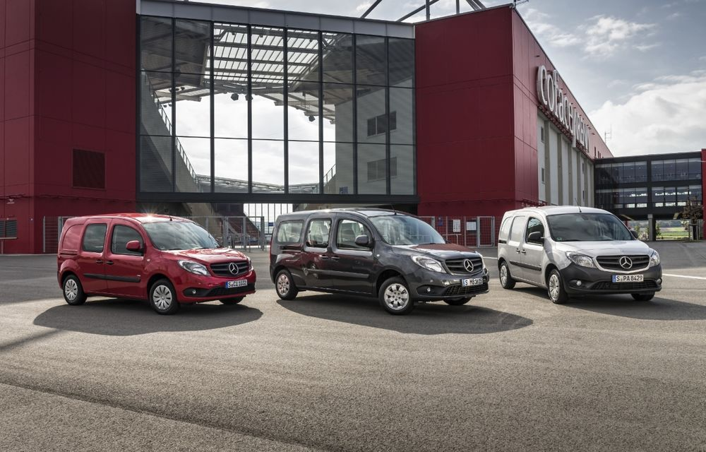 Mercedes-Benz Citan, fratele german al lui Renault Kangoo, primește un motor 1.2 benzină turbo și o transmisie automată - Poza 2
