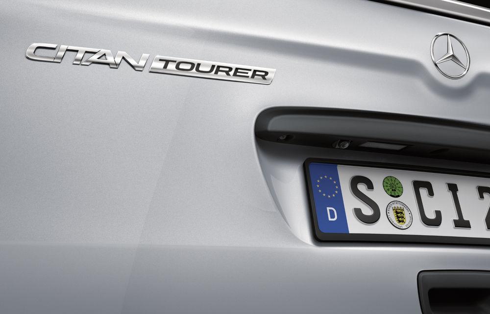 Mercedes-Benz Citan, fratele german al lui Renault Kangoo, primește un motor 1.2 benzină turbo și o transmisie automată - Poza 26