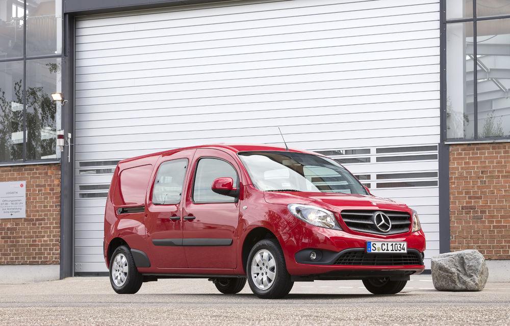 Mercedes-Benz Citan, fratele german al lui Renault Kangoo, primește un motor 1.2 benzină turbo și o transmisie automată - Poza 16