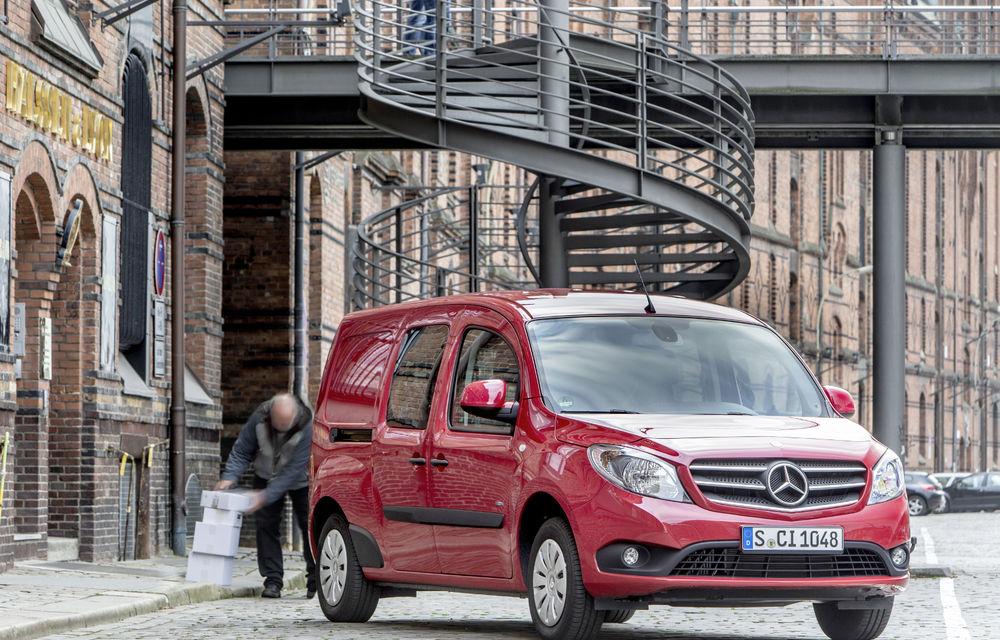 Mercedes-Benz Citan, fratele german al lui Renault Kangoo, primește un motor 1.2 benzină turbo și o transmisie automată - Poza 25